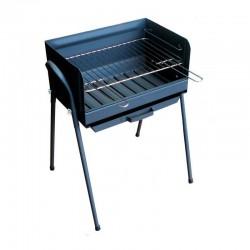 Barbacoa de carbón metálica azul Huesca