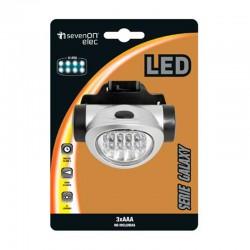 Linterna de 4 LEDS para casco