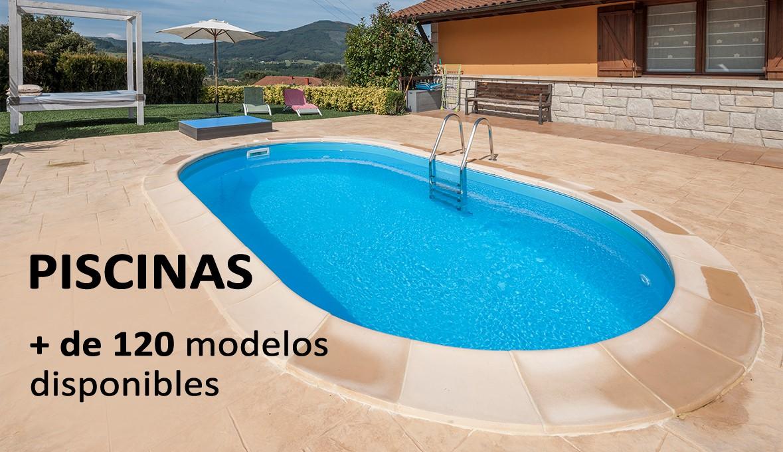 Más de 90 modelos en Piscinas