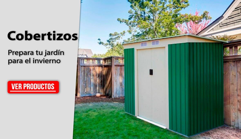 Cobertizos - Prepara tu jardín para el invierno