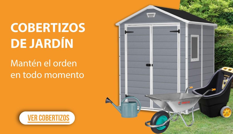 Cobertizos de jardín: Mantén el orden en todo momento