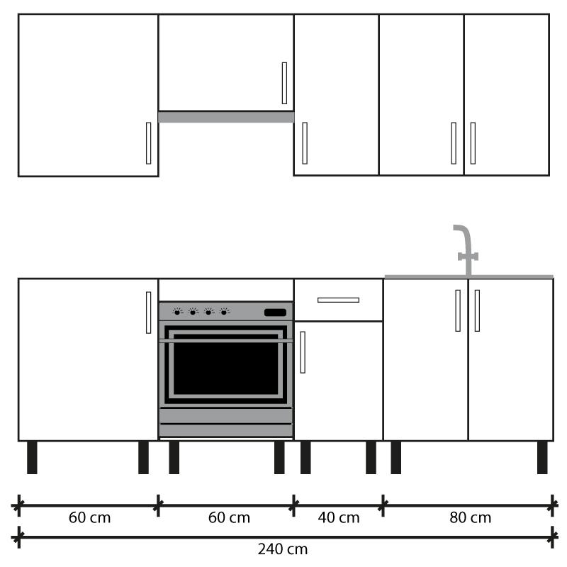 Cocina en kit Meka